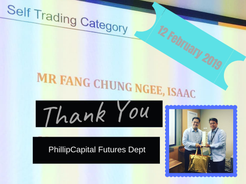 2019 PhillipFutures Self Trading Category Isaac Fang CFA