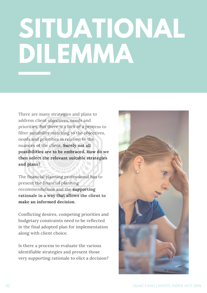 What is the situational dilemma that FDM solves