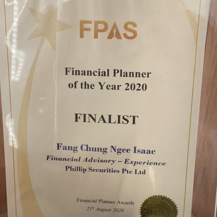 FPA awards 2020 Finalist