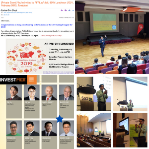 Isaac Fang CFA at Public Speaking events