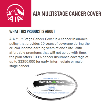 AIA Multistage Cancer Cover